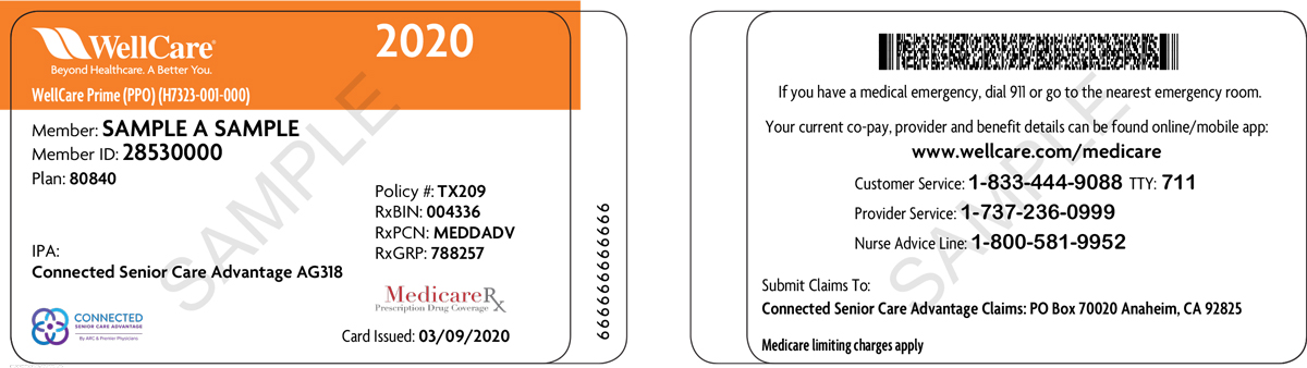 Delegated Plan ID Cards